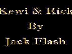 Have fun today with tough white guy Rick and awesome black t-girl Kewi.