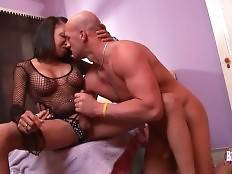 Christian Makes Black TS Vanilla Horny 2