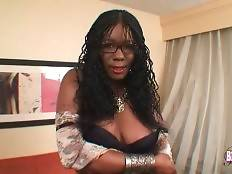 Have some fun with breasted ebony tranny Mikayla Taylor.